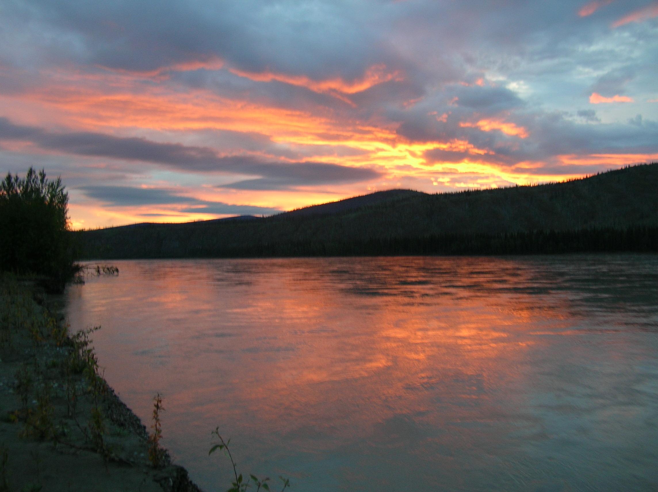teslin river tour