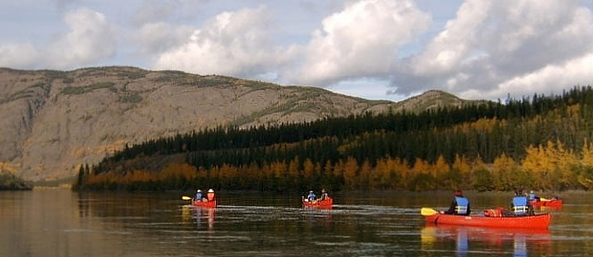 teslin river guided tour